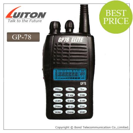 GP-78 elite portable radio