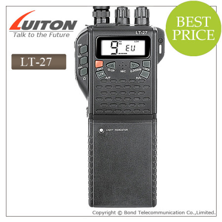 LT-27 handheld 40channels CB radio 27MHz