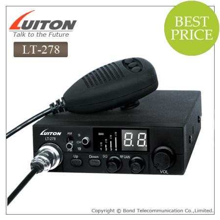 LT-278 am/fm rechargeable two way radios