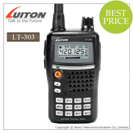 LT-303 uvf/vhf 5w 2 way radio