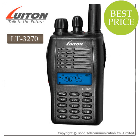 LT-3270 vhf uhf handheld walkie talkie