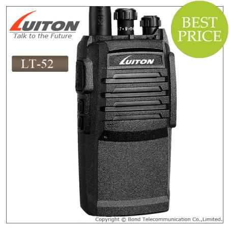 LT-52 handheld vhf radio