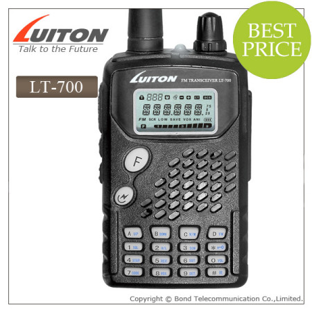 LT-700 uhf two way radio with CTCSS/DCS