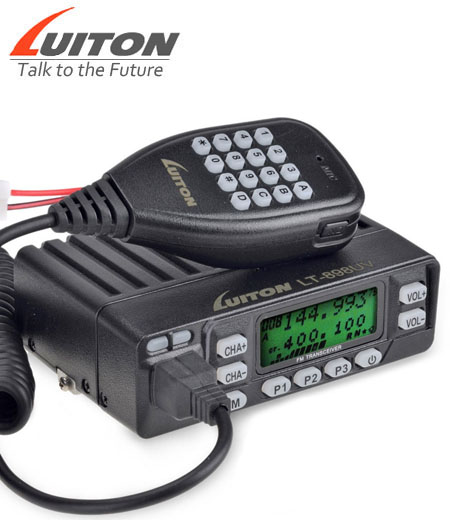 LT-898UV dual band mobile radio