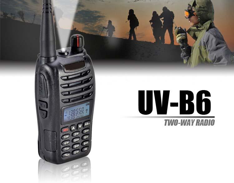 Baofeng UV-B6 Handheld Radio