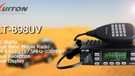 10 watts Dual Band Mobile Radio LT-898UV