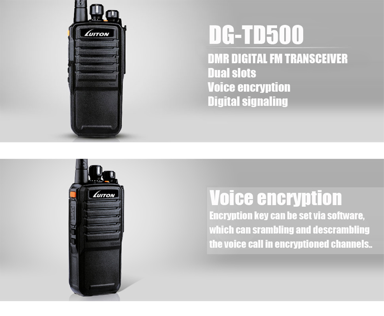 DMR DIGITAL RADIO DG-TD500-1