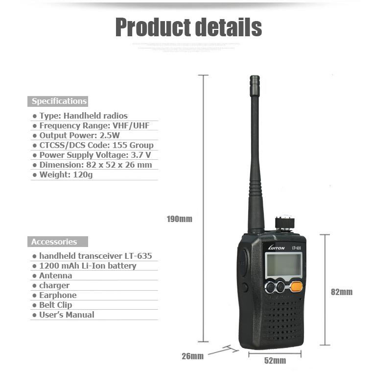 ham radio lt-635-2