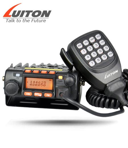mobile dual band radio