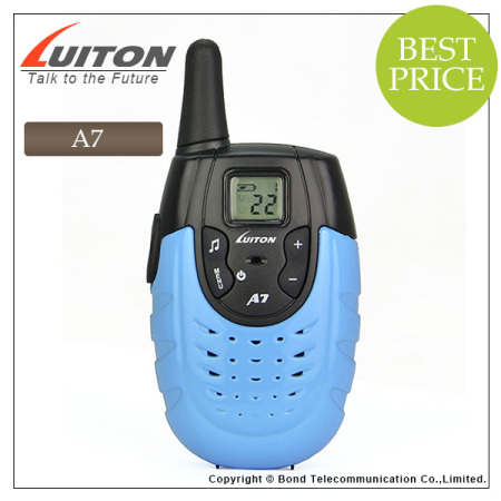 Luiton A7 PMR FRS kids walkie talkie