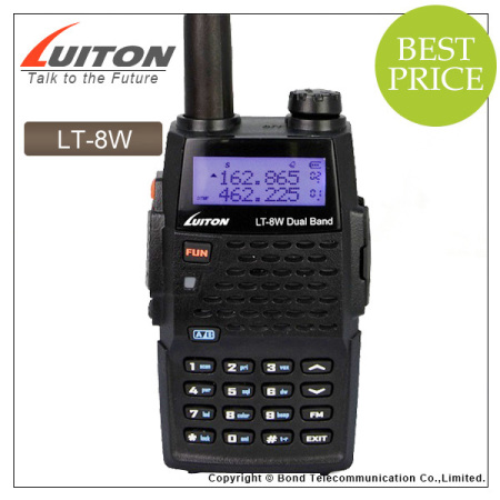 NEW luiton lt-8w high power 7w dual band 2 way radio