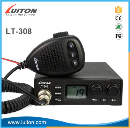 LT-308 LCD display 40 channels am/fm 27mhz cb radio