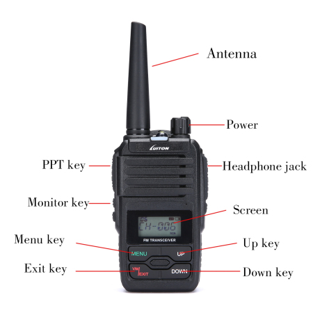 LT-320HM 5Watt two way radio