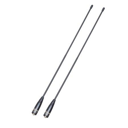 LUITON  Nagoya Series NA-771 15.6-Inch Whip Dual Band UV VHF/UHF 144/430Mhz Ham Radio Antenna SMA-F for Kenwood TYT BAOFENG
