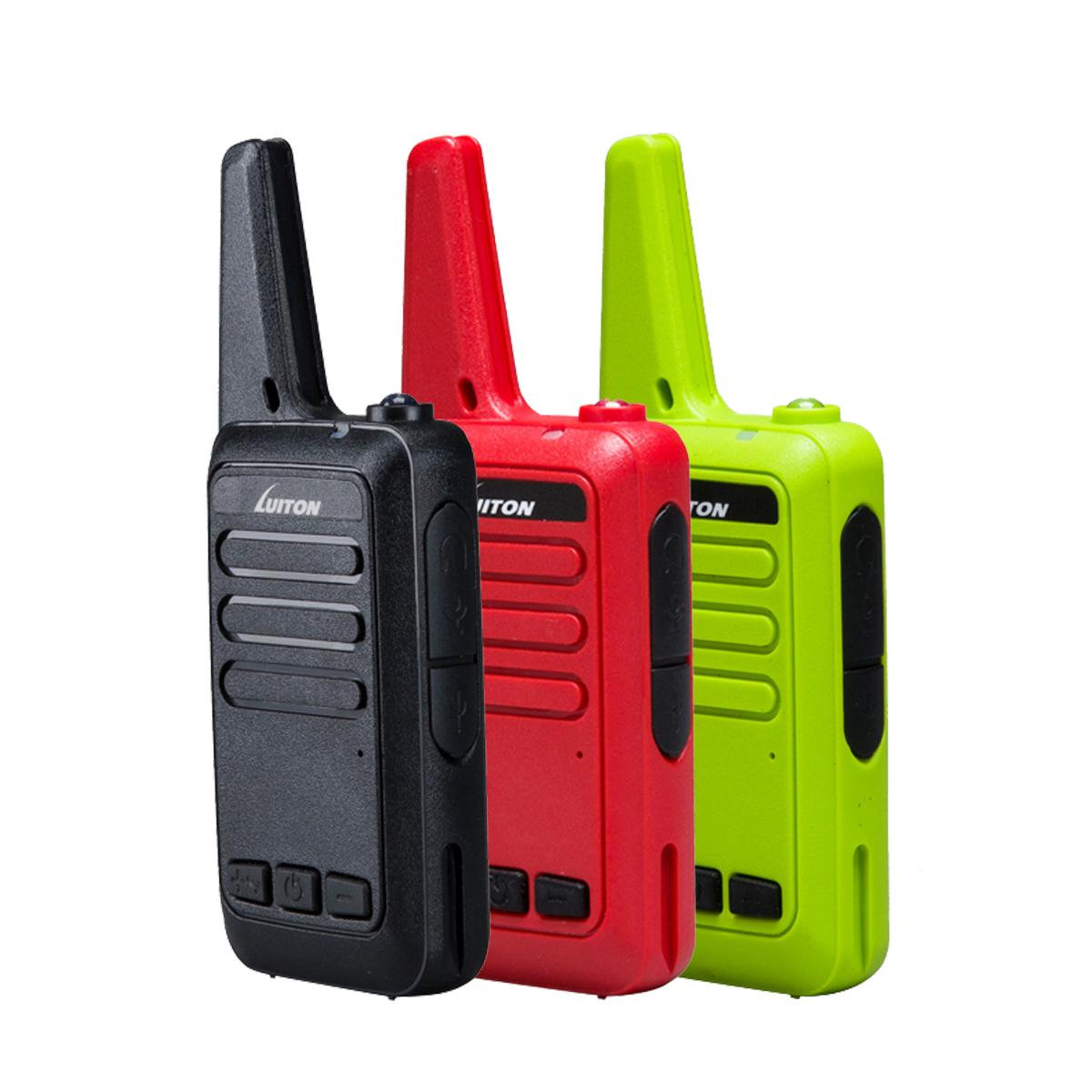 LT-216 UHF 400-470 MHz MINI-handheld 2W Walkie Talkie - LUITON